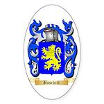 Boschetti Sticker (Oval 10 pk)