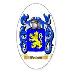 Boschetti Sticker (Oval 50 pk)