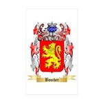 Boscher Sticker (Rectangle 50 pk)