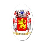 Boscher 35x21 Oval Wall Decal