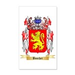 Boscher 35x21 Wall Decal
