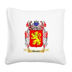 Boscher Square Canvas Pillow
