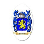 Boschello 20x12 Oval Wall Decal