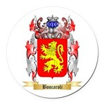 Boscaroli Round Car Magnet