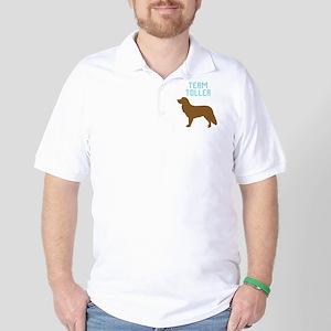 Nova Scotia Duck Tolling Retr Golf Shirt