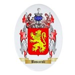 Boscaroli Ornament (Oval)