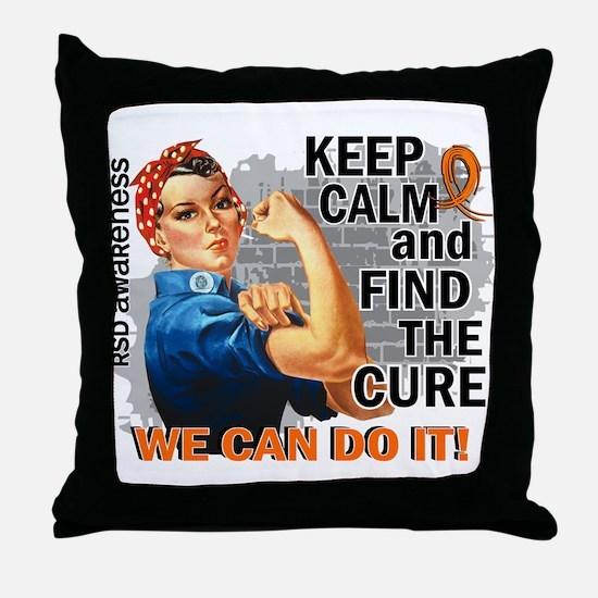 Rosie Keep Calm RSD Throw Pillow