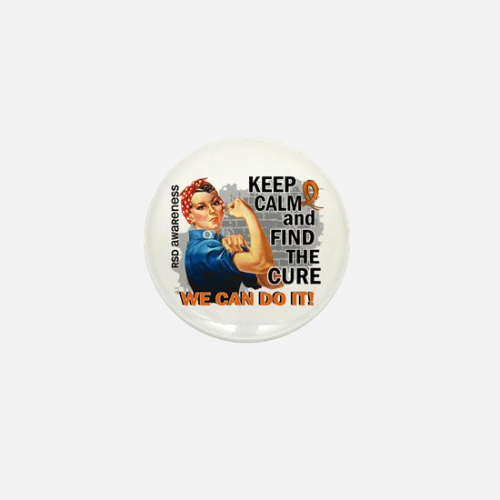 Rosie Keep Calm RSD Mini Button