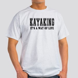 Kayaking It's A Way Of Life Light T-Shirt