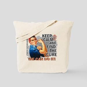 Rosie Keep Calm Uterine Cancer Tote Bag