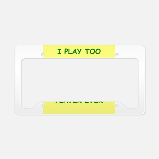 war games License Plate Holder
