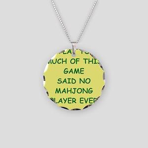mahjong Necklace