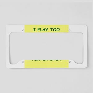 hockey License Plate Holder