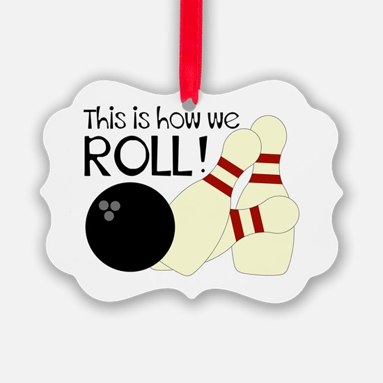Funny Bowling Ornament
