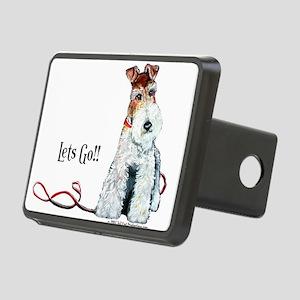 Fox Terrier Walk Rectangular Hitch Cover