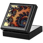 Terracotta Vision Fractal Keepsake Box