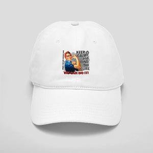 Rosie Keep Calm Brain Cancer Cap