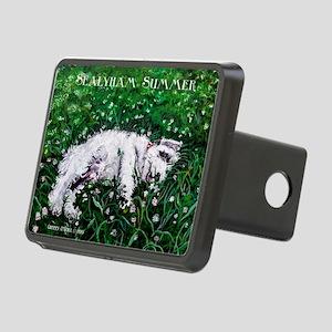 Sealyham Summer Terrier Hitch Cover