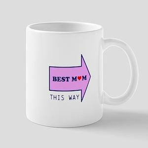 BEST MUM THIS WAY Mug
