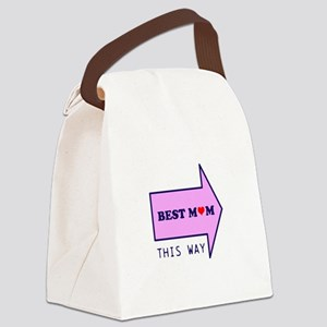 BEST MUM THIS WAY Canvas Lunch Bag