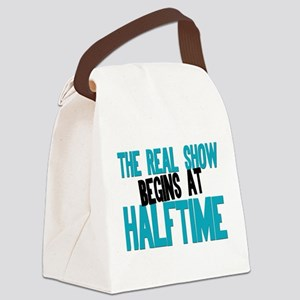 Marching Band Halftime Canvas Lunch Bag