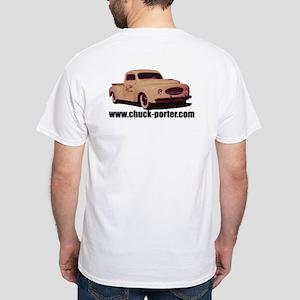 Chuck Porter 1949 Pickup - White T-Shirt