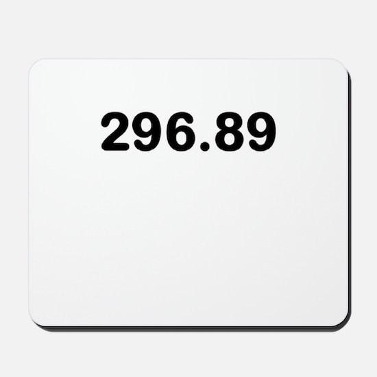 296.89 Mousepad