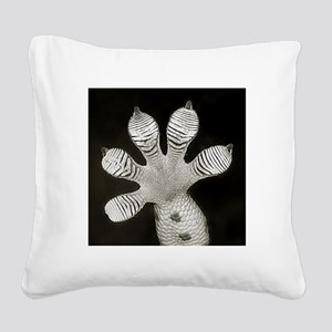 Tokay Gecko Square Canvas Pillow