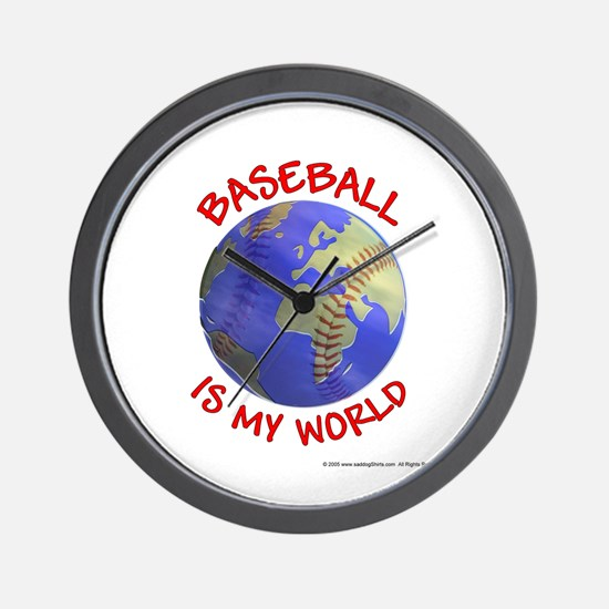 Baseball is my World Wall Clock