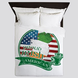 Proud Irish American Queen Duvet