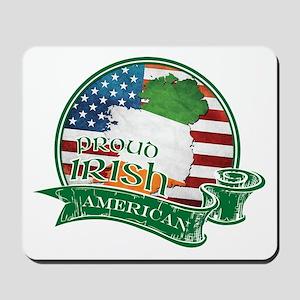 Proud Irish American Mousepad