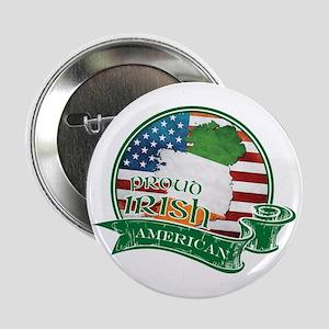 "Proud Irish American 2.25"" Button"