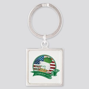 Proud Irish American Keychains