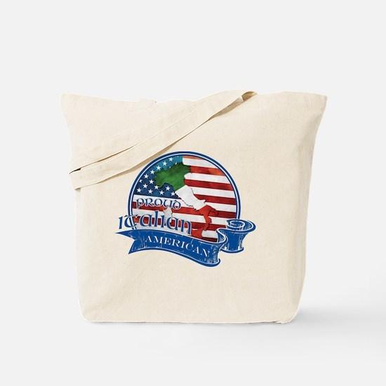 Proud Italian American Tote Bag