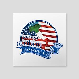 Proud Italian American Sticker