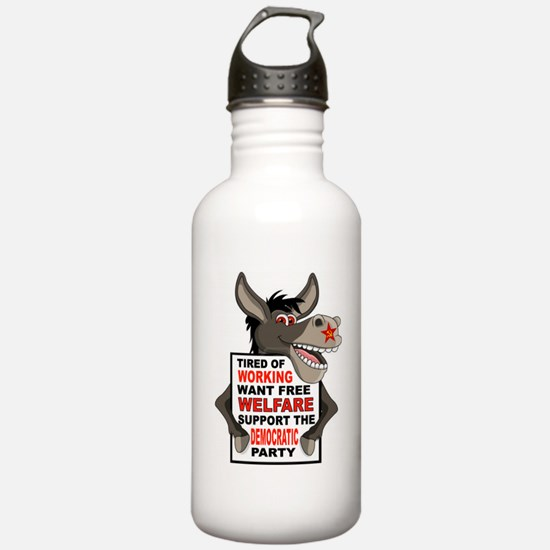 WELFARE DEMOCRATS Water Bottle