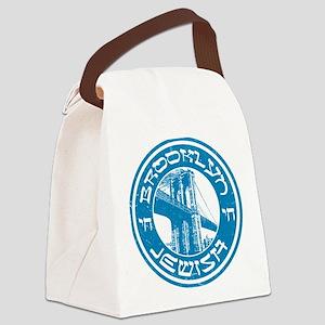 Brooklyn New York Jewish Canvas Lunch Bag