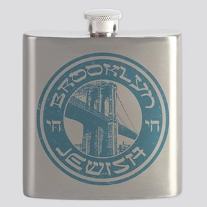 Brooklyn New York Jewish Flask