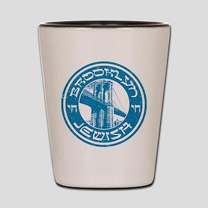 Brooklyn New York Jewish Shot Glass