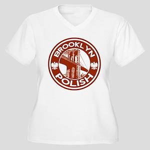 Brooklyn New York Polish Plus Size T-Shirt