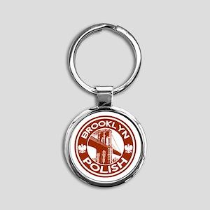 Brooklyn New York Polish Keychains