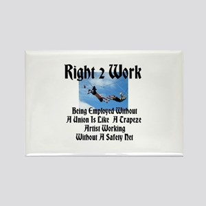 Right 2 W0rk Being Employed Without A Union Rectan