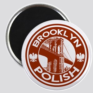 Brooklyn New York Polish Magnet