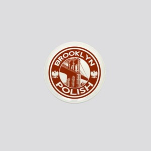 Brooklyn New York Polish Mini Button