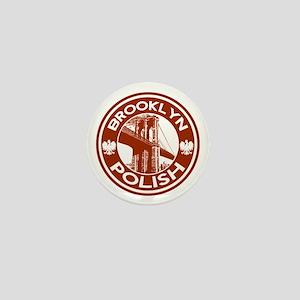Brooklyn New York Polish Mini Button