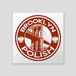 Brooklyn New York Polish Sticker