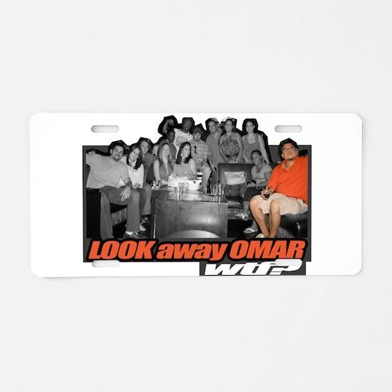 LOOKawayOMAR Aluminum License Plate