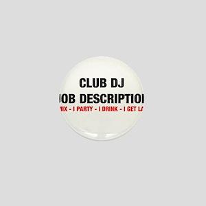 DJ JOB Mini Button