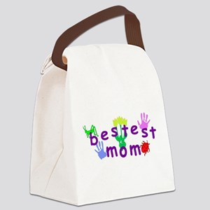 Bestest Mom Canvas Lunch Bag