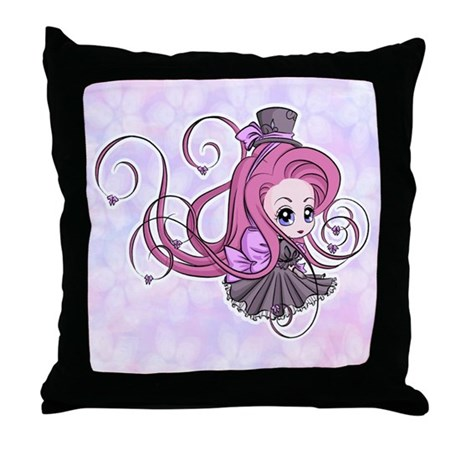 Aristocratic Flare Throw Pillow